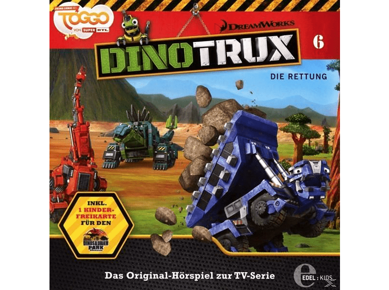 Dinotrux - (6)Das Original-Hörspiel z.TV-Serie-Die Rettung - (CD)