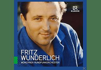 Fritz Wunderlich, Münchner Rundfunkorchester - Great Singers Live: Fritz Wunderlich  - (CD)