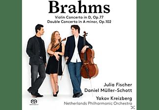 Fischer/Müller-Schot - Violinkonzert op.77/Doppelkonzert op.102  - (SACD)
