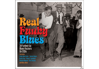 VARIOUS - Real Funky Blues  - (CD)