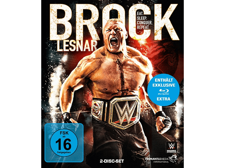 Brock Lesnar-Eat,Sleep,Conquer,Repeat [Blu-ray]