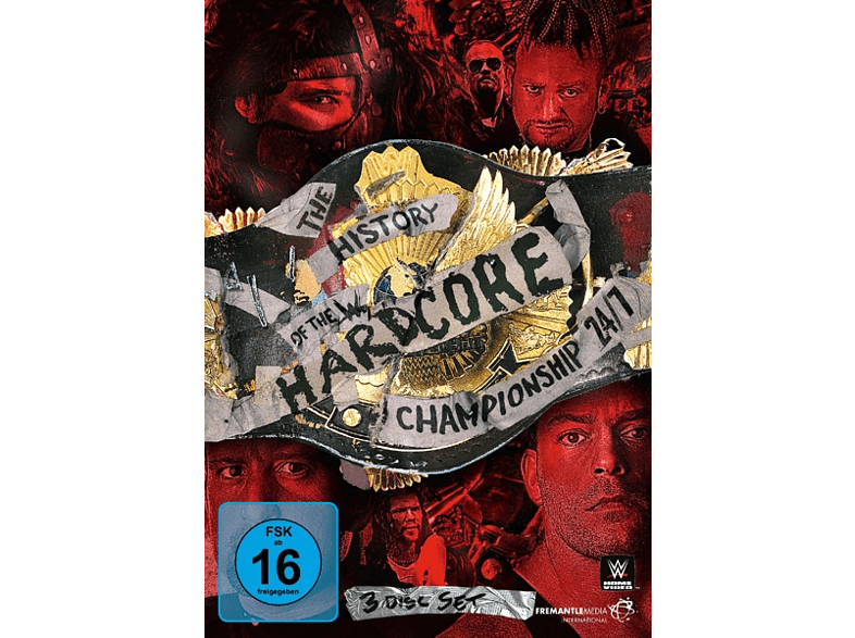 The History Of The Hardcore Championship 24/7 [DVD]
