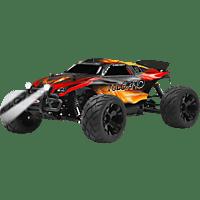 JAMARA 053369 Vulcano 1:10 EP 4WD LED Lipo 2.4 GHz Truggy Truggy, Rot/Schwarz