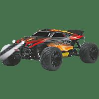 JAMARA Vulcano 1:10 EP 4WD LED NiMh 2.4 GHz Truggy RC Fahrzeug, Rot/Schwarz