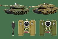 JAMARA 403634 Battle Set Leopard II 2.4 GHz Panzer, Braun/Grün
