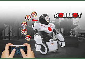 JAMARA 410020 Robibot Bluetooth Roboter, Weiß/Rot