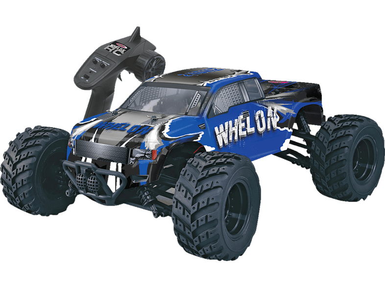 JAMARA 053355 Whelon 1:12 4WD LiIon 2.4 GHz Truggy, Blau
