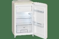 BOMANN KSR 350  Kühlschrank (A++, 136 kWh/Jahr, 980 mm hoch, Beige)