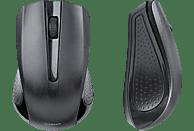 VIVANCO 36639 Maus, Schwarz