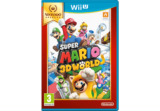 Selects Super Mario 3D World Nintendo Wii U