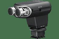 SONY ECM-XYST 1 M, Stereomikrofon, Schwarz, passend für Kameras der R-Serie, NEX-6, Camcorder