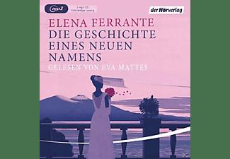 Eva Mattes - (2)Die Geschichte Eines Neuen Namens (MP3)  - (MP3-CD)
