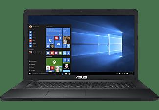 ASUS R752LAV-TY568T, Notebook mit 17,3 Zoll Display, Core™ i3 Prozessor, 8 GB RAM, 1 TB HDD, Intel® HD-Grafik, Black