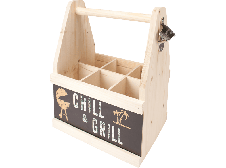 CONTENTO 866643 Beer Caddy chill & grill Flaschenträger