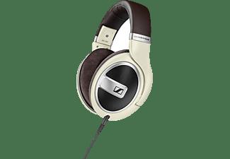 SENNHEISER HD 599, On-ear Kopfhörer Braun/Creme
