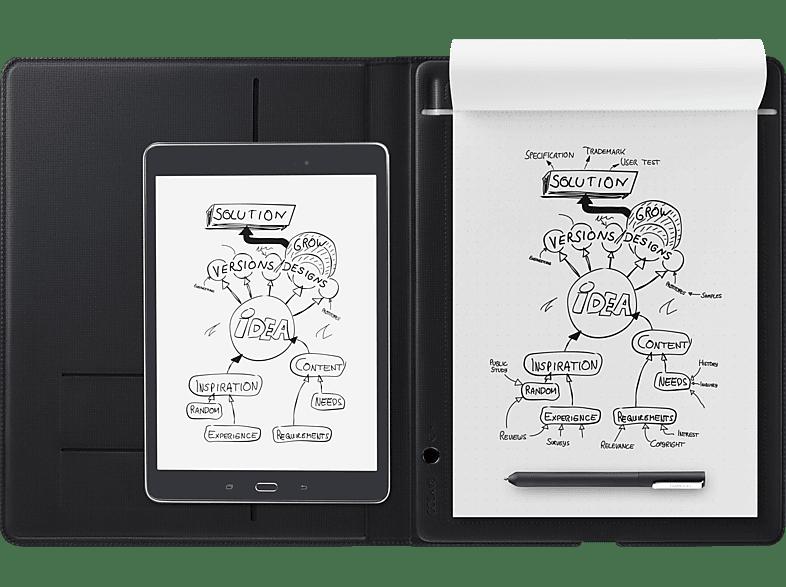 WACOM Bamboo Folio, groß Smartpad, Grau/Grau