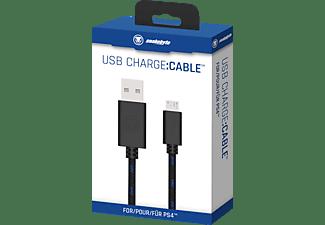 SNAKEBYTE PS4 USB Charge Cable 3m Kabel, Blau/Schwarz