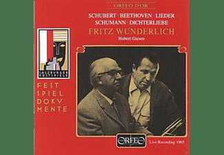 Fritz Wunderlich, Hubert Giesen - Fritz Wunderlich - Live Recording 1965  - (CD)