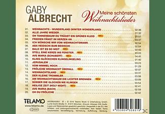 Gaby Albrecht - Meine Schönsten Weihnachtslieder  - (CD)