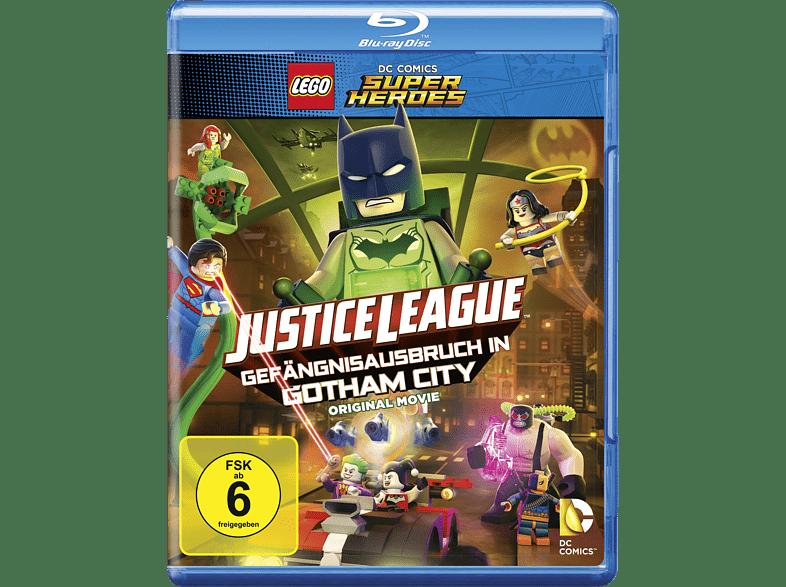 Lego DC Super Heroes Justice League Gefängnisausbruch aus Gotham [Blu-ray]