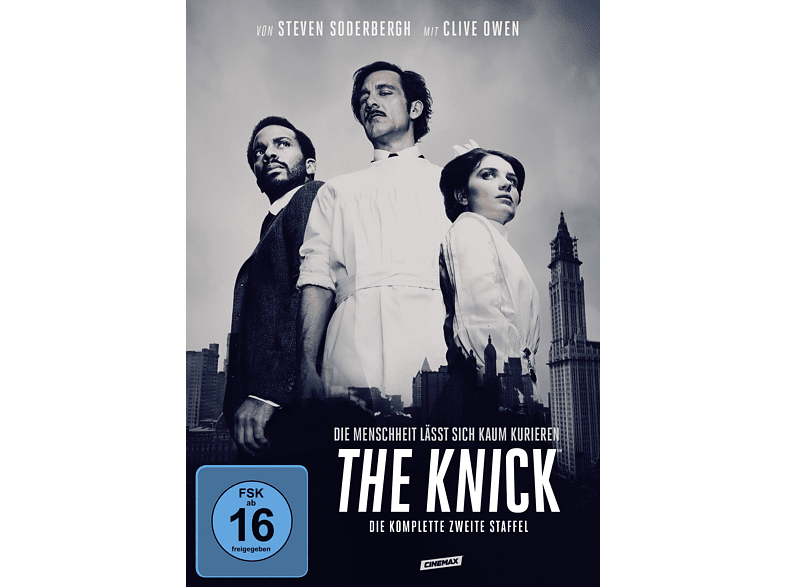 The Knick - Staffel 2 [DVD]