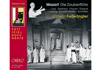 Chor Der Wiener Staatsoper, Wiener Philharmoniker, VARIOUS - Mozart: Die Zauberflöte  - (CD)
