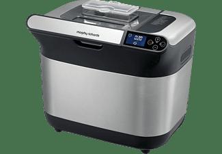 MORPHY RICHARDS 502000 Premium Plus (Brotbackautomat, Gebürsteter Edelstahl/Schwarz)