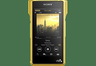 SONY NW-WM1Z MP3-Player 256 GB, Gelb/Schwarz