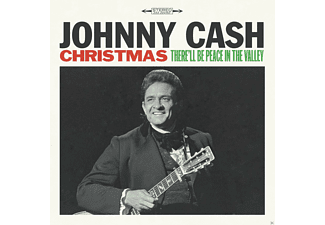 Johnny Cash - Christmas: There'll Be Peace in the Valley  - (Vinyl)