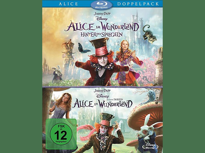 Alice im Wunderland 1+2 (Pack) [Blu-ray]