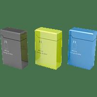 HAMA Ausziehbares, Micro-USB-Kabel, 0.75 m, Schwarz, Blau, Grün