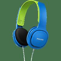 PHILIPS SHK2000BL/00 Kopfhörer Blau/Grün