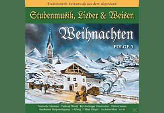 VARIOUS - WEIHNACHTEN-Stubenmusik,Lieder & Weisen 3  - (CD)