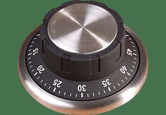 WINKEE 14197 Safe Timer Tresor Küchenuhr Silber/Schwarz