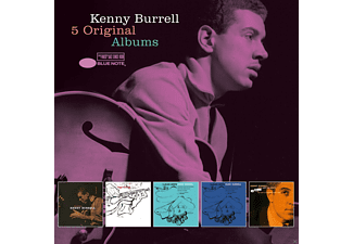Kenny Burrell, VARIOUS - 5 Original Albums  - (CD)