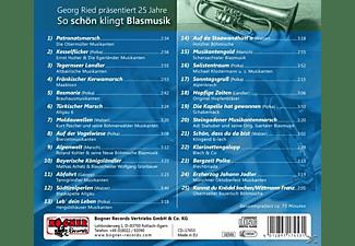 """VARIOUS, Georg Ried - 25 Jahre """"So schön klingt Blasmusik""""  - (CD)"""