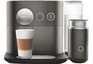DELONGHI EN 355.GAE Nespresso Expert&Milk Kapselmaschine Anthracite Grey
