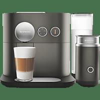 DELONGHI EN 355.GAE Nespresso Expert&Milk Kapselmaschine, Anthracite Grey