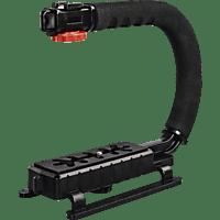 HAMA 120 - Kamera- und Videohandgriff, Schwarz, Höhe offen bis 250 mm