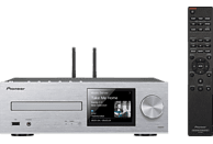 PIONEER XC-HM86D-S Kompaktanlage (CD, USB, Streaming, Silber)