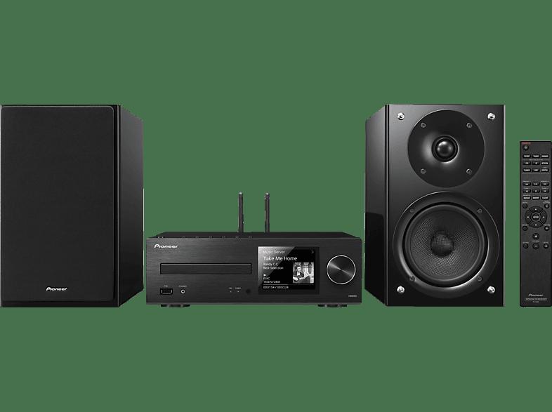 PIONEER X-HM86D-B Kompaktanlage (CD, USB, Streaming, Schwarz)