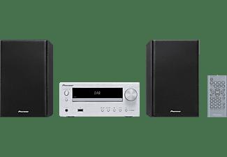 PIONEER X-HM26D-S Kompaktanlage (Silber)