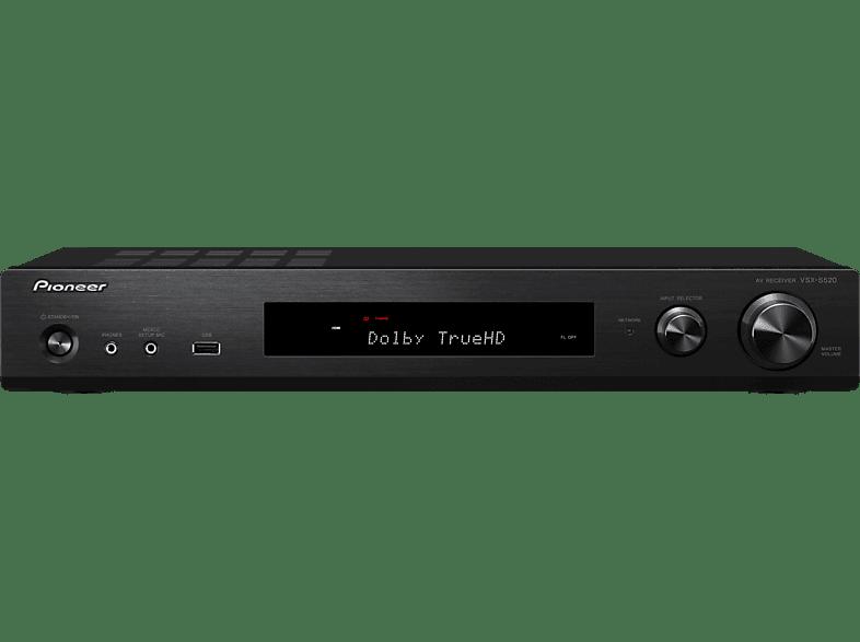 PIONEER VSX-S 520-B AV-Receiver (5.1 Kanäle, 80 Watt pro Kanal, Schwarz)