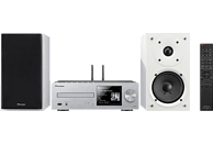 PIONEER X-HM76D-SW Kompaktanlage (Silber/Weiß)