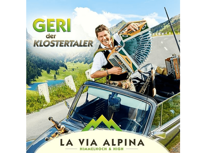 Geri Der Klostertaler - La Via Alpina [CD]