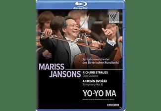 VARIOUS - Richard Strauss Don Quixote/Antonin Dvo  - (Blu-ray)