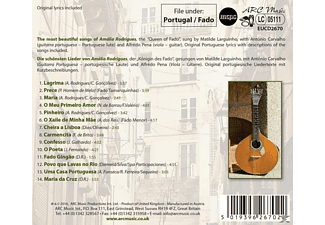 Matilde Larguinho - Best Of Fado - Tribute To Amalia Rodrigues  - (CD)