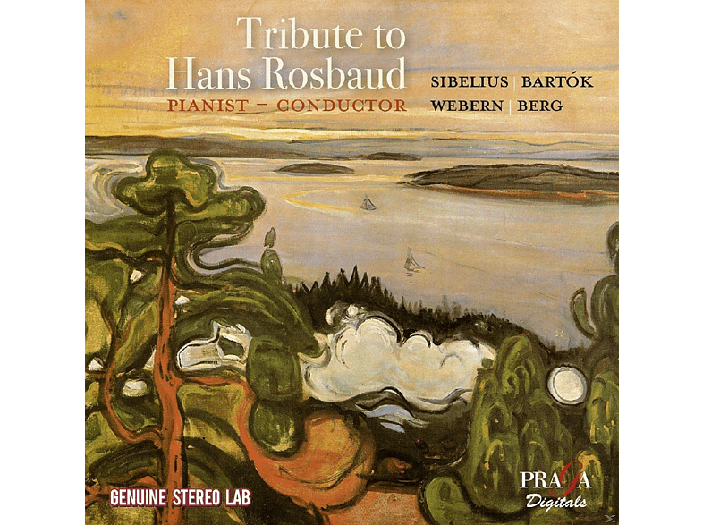 Swf Symphony Orchester & Berliner P - Tribute To Hans Rosbaud [CD]