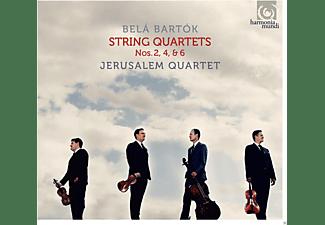 Jerusalem Quartet - Streichquartete 2,4 & 6  - (CD)