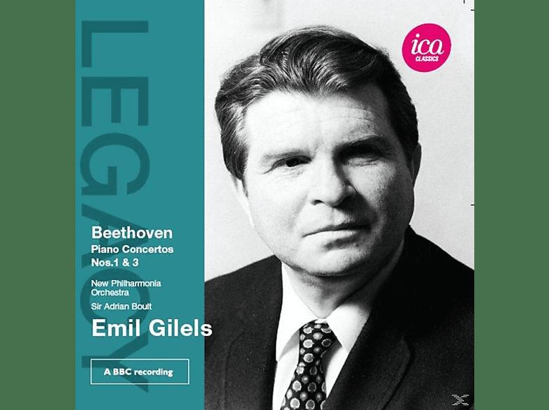 Boult, Gilels, New Philharmonia Orchestra - Piano Concertos Nos. 1 & 3 [CD]
